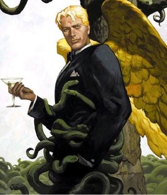 "Lucifer Morningstar of Mike Carey's ""Lucifer"" series"