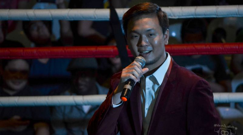PWR Renaissance: Chairman Mr. Sy addresses the crowd.
