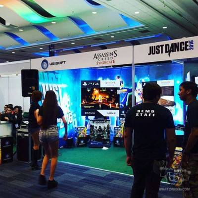 Ubisoft's Assassin's Creed Syndicate Demo Booth