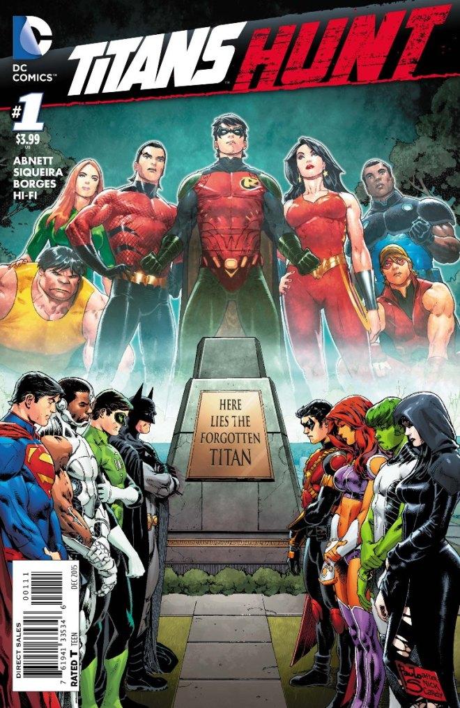 Titans Hunt regular cover