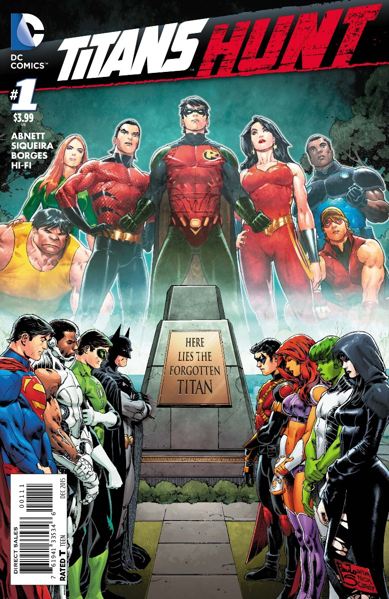 Titans Hunt regular cover