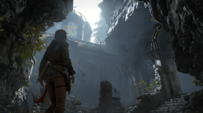 Rise of the Tomb Raider ruins