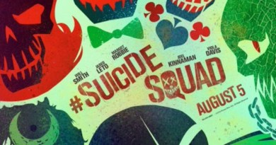 Suicide Squad Official Poster (Header)