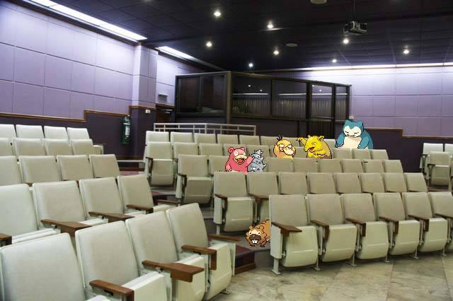 Pokemon or students?