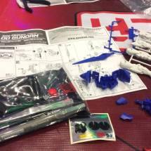 Free Gundam kit from Bandai