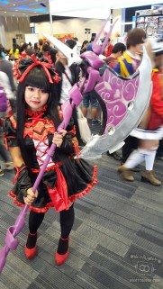 Cosplayer Kate as Rory Mercury:fbcom/Kouran.Chou