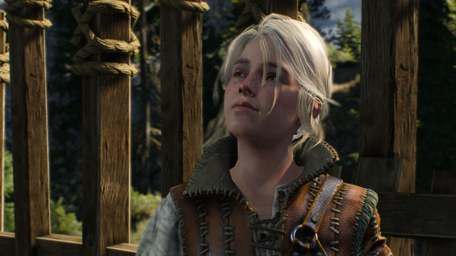 Young Ciri from Witcher 3