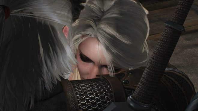 Geralt & Ciri Reunited in Witcher 3