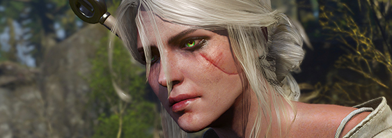 Ciri from Witcher 3: The Wild Hunt