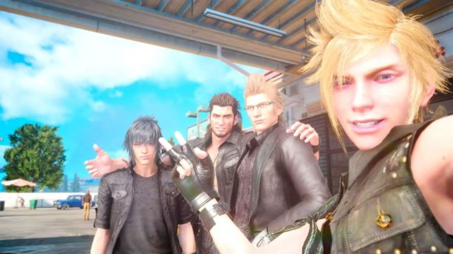 Final Fantasy XV - The Four Friends