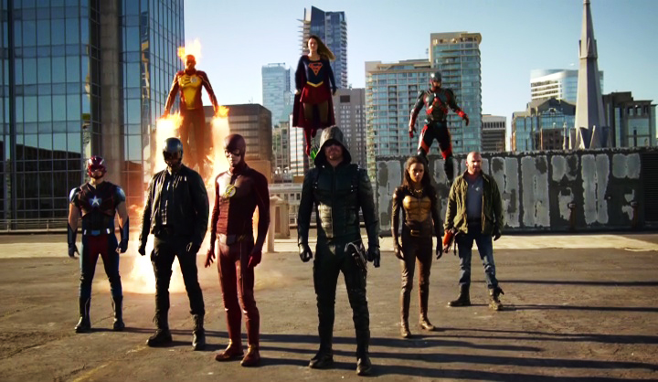 invasion3 CW Arrow, Flash, Legends of Tomorrow