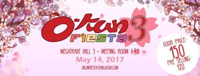 O-Kun Fiesta (Geek Events May 2017 Philippines)