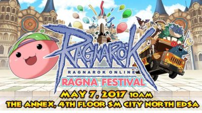 Ragna Festival (Geek Events May 2017 Philippines)