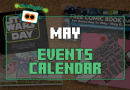 The Events for May 2017 Are Here!