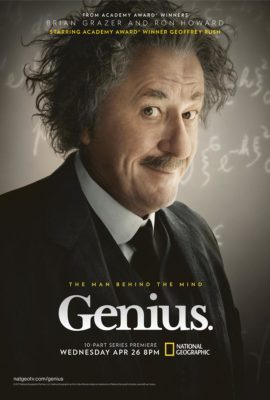 Watch Genius every Wednesday night at 8:00PM on The National Geographic Channel