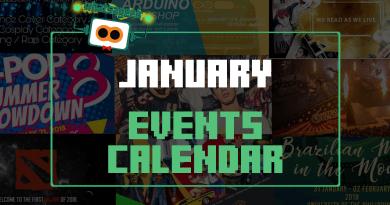 WAG January 2018 Events