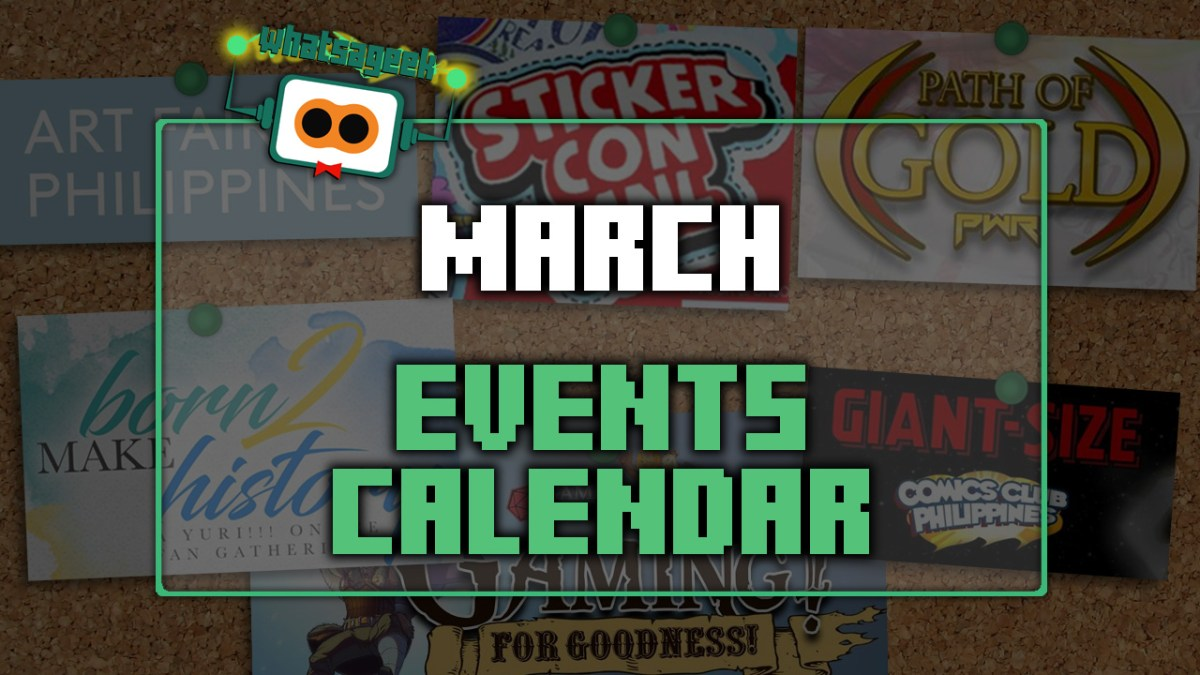 March 2018 Events and Happenings Checklist!