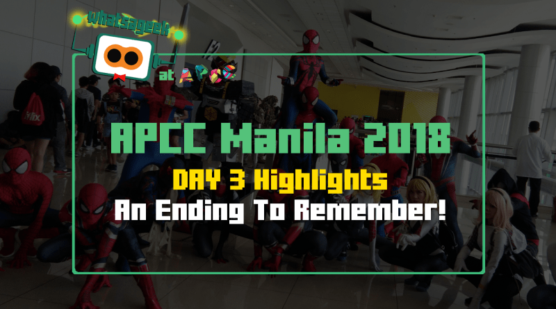 WAG APCC Manila 2018 - 01 - Day 3 Highlights