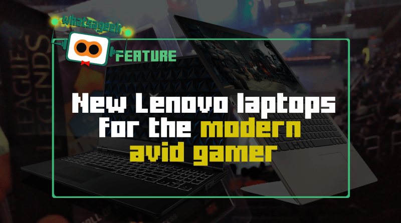 Lenovo Laptops for the Modern Avid Gamer