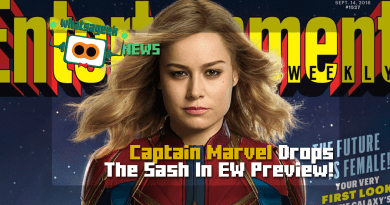 Captain Marvel Drops The Sash In EW Preview