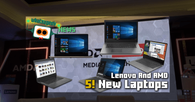 Here are the new 5 Lenovo AMD Laptops!