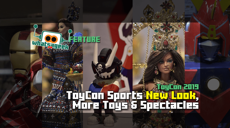 ToyCon 2019 Sports New Logo, More Toys & Spectacles!