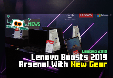 Lenovo Boosts 2019 Lineup With New Releases
