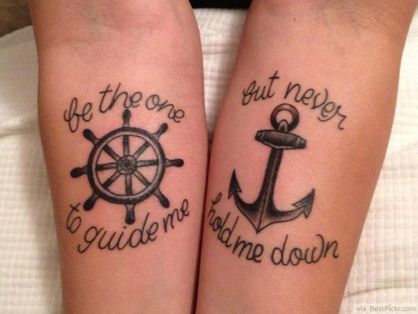 Love Couples Tattoos