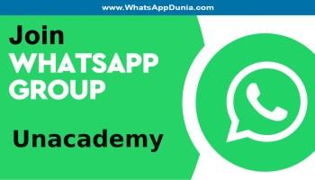 Unacademy WhatsApp Group Links