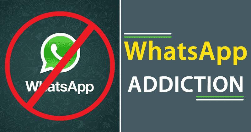व्हाट्सएप की लत से बचने के 5 टिप्स WhatsApp-Addiction