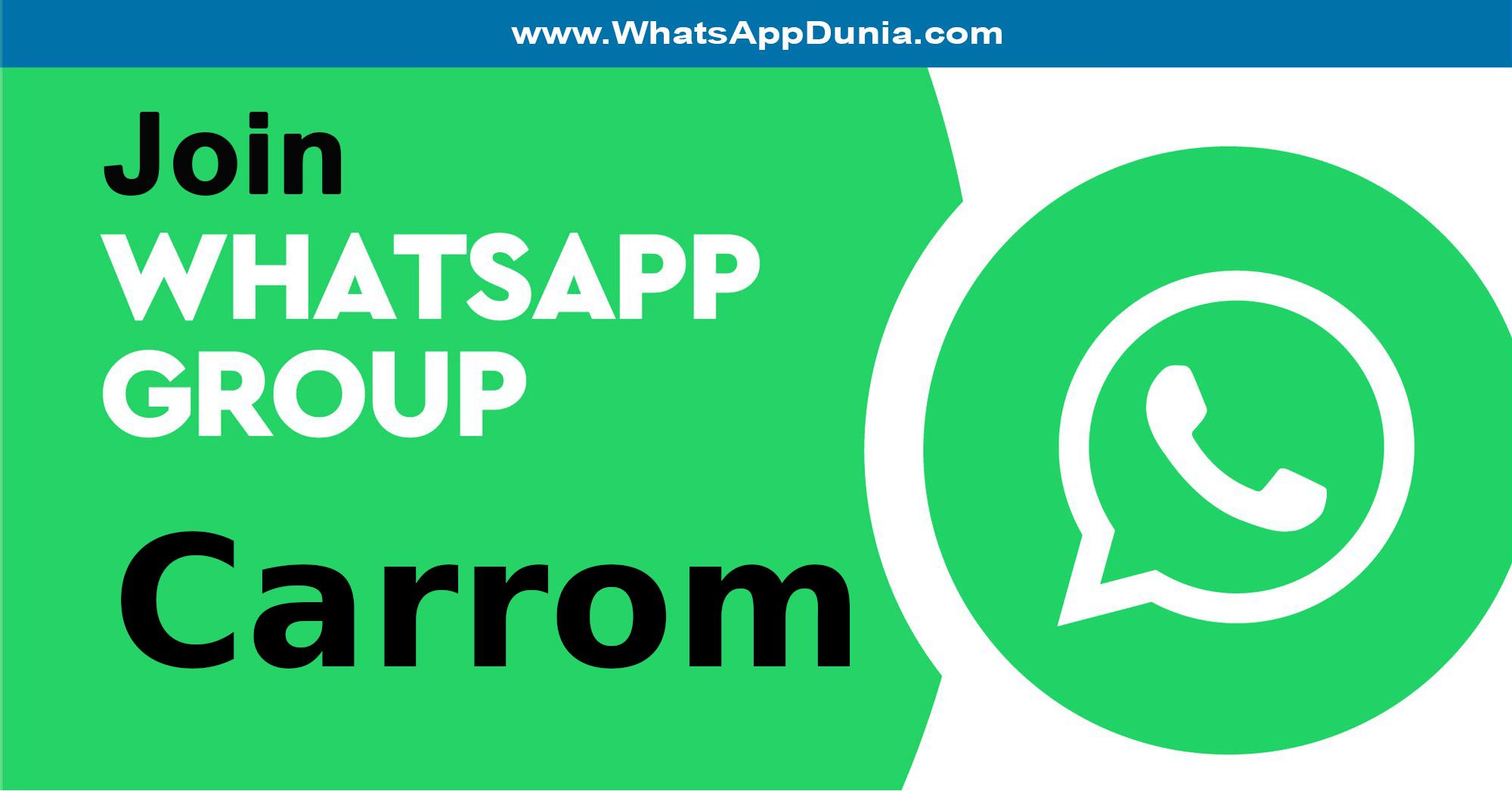 Carrom WhatsApp Group Links