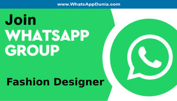 Fashion Designer WhatsApp Group Links