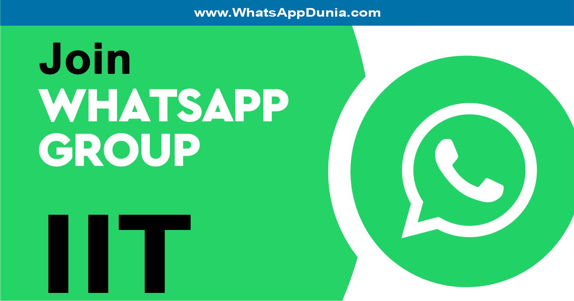 IIT WhatsApp Group Links