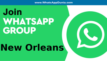 New Orleans WhatsApp Group Links