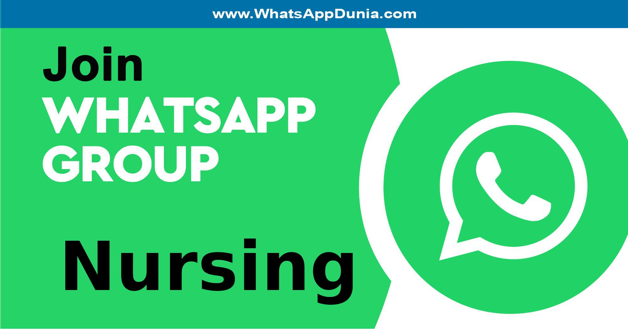 Nursing WhatsApp Group Links