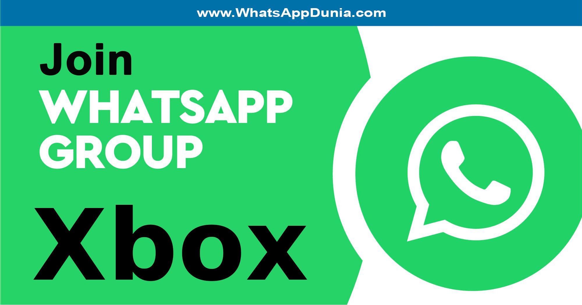 Xbox WhatsApp Group Links