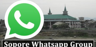 Join Sopore Whatsapp Group Link