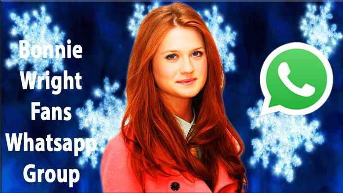 Bonnie Wright Fans Whatsapp Group Link