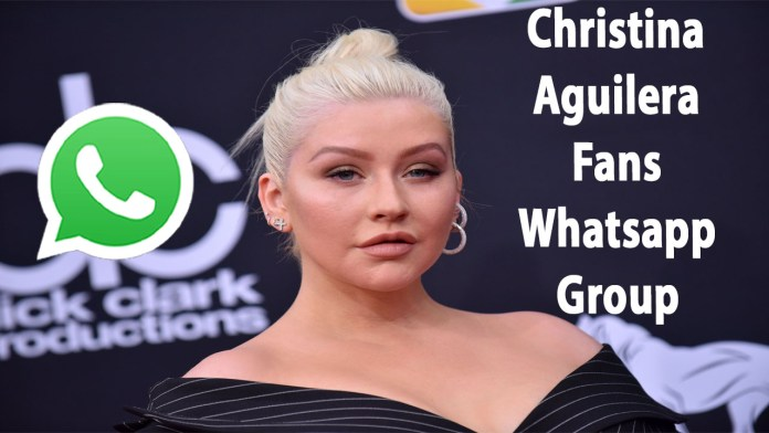 Christina Aguilera Fans Whatsapp Group Link