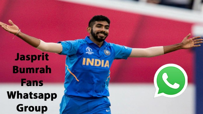 Jasprit Bumrah Fans Whatsapp Group Link