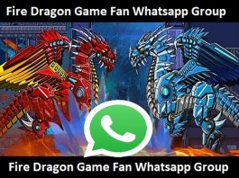 Join New Fire Dragon Game Fan Whatsapp Group Invite Link