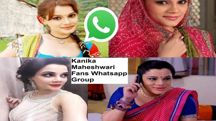 Kanika Maheshwari Fans Whatsapp Group Link
