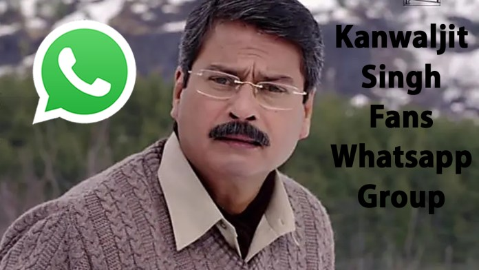 Kanwaljit Singh Fans Whatsapp Group Link
