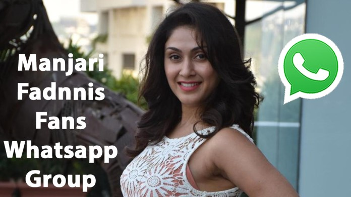 Manjari Fadnnis Fans Whatsapp Group Link