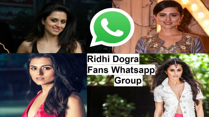Ridhi Dogra Fans Whatsapp Group Link