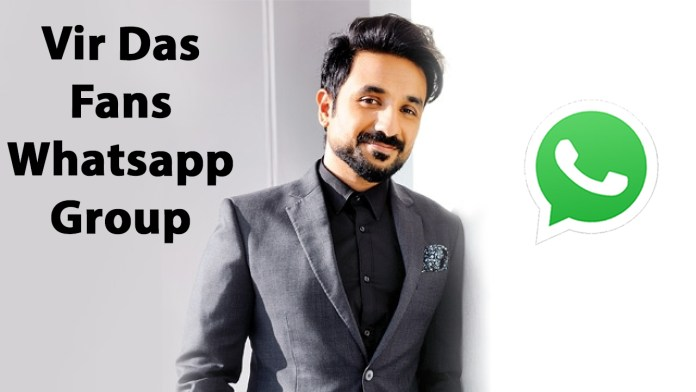 Vir Das Fans Whatsapp Group Link