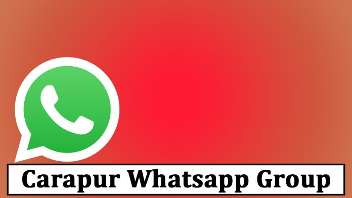 Join Carapur Whatsapp Group Link