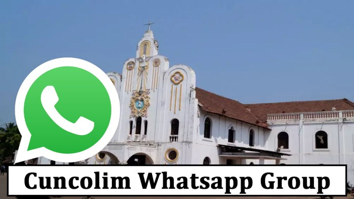 Join Cuncolim Whatsapp Group Link
