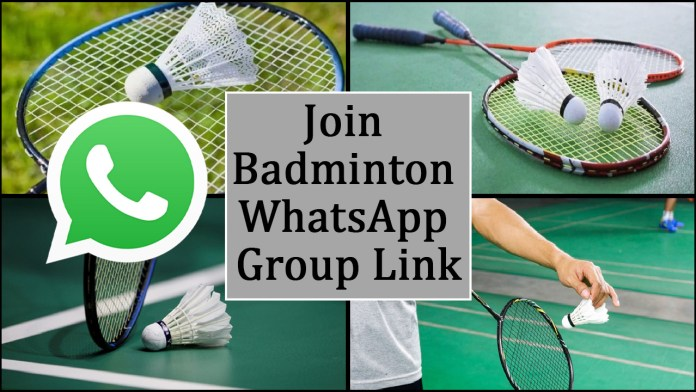 Join Badminton WhatsApp Group Link