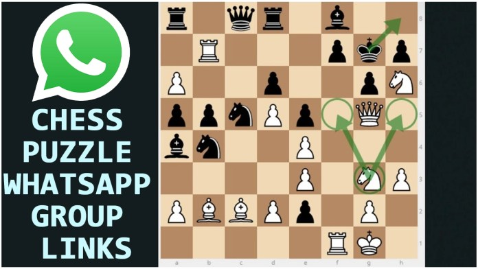 CHESS PUZZLE WHATSAPP GROUP LINKS